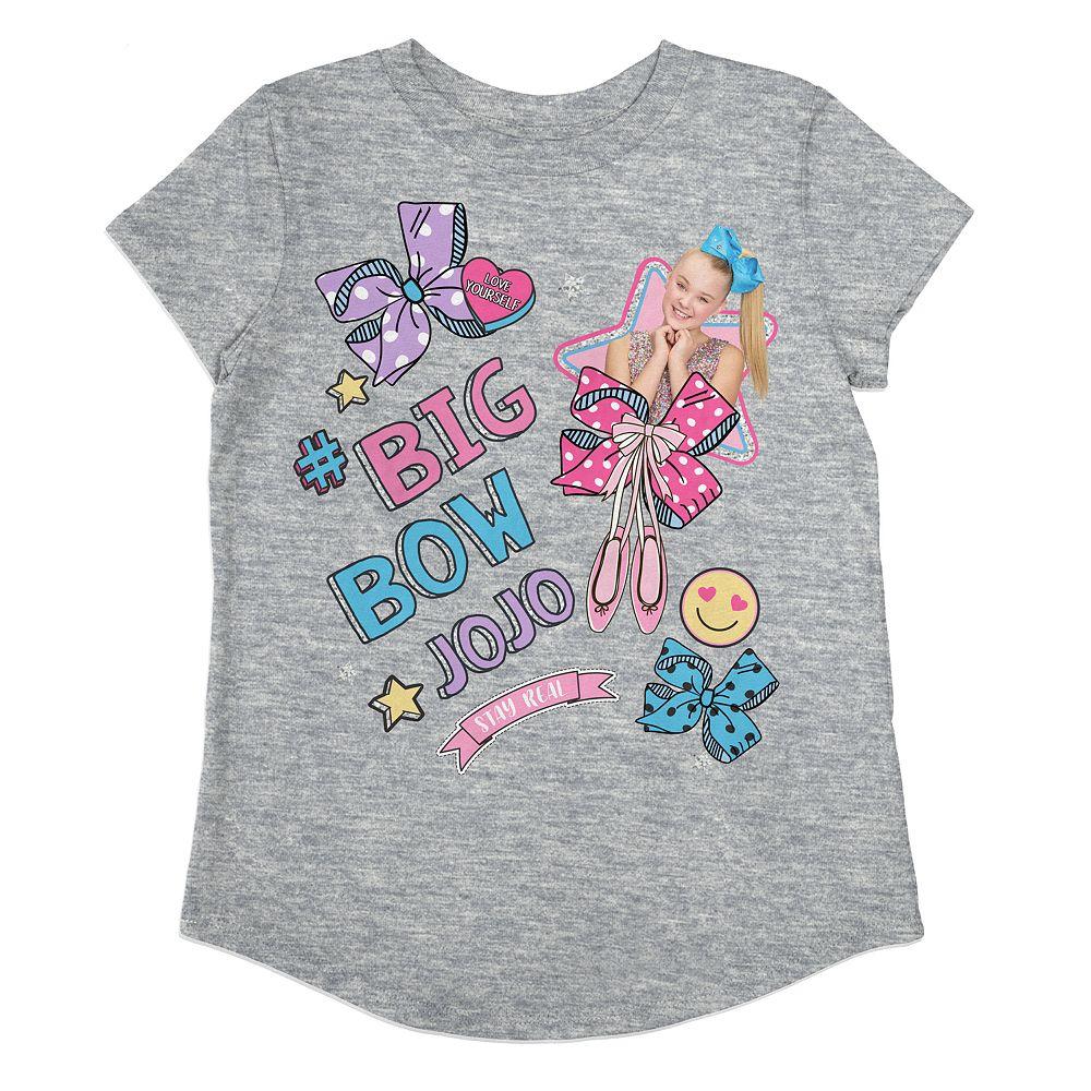 "Toddler Girl Jumping Beans® ""Big Bow Jojo"" Graphic Tee"