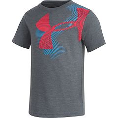 4ce1186c Toddler Boy Under Armour Oversized Logo Graphic Tee