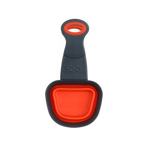 Dexas Collapsible 1/2-Cup Square Klipscoop