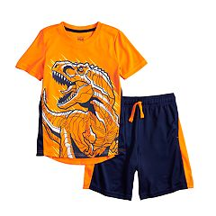 fe9da41831 Boys 4-12 Jumping Beans® Dinosaur T-Rex Active Graphic Tee & Striped