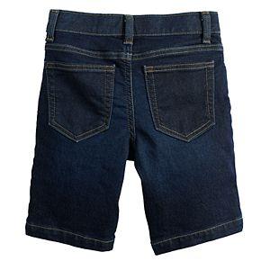 Boys 4-12 SONOMA Goods for Life? Knit Denim Shorts in Regular, Slim & Husky