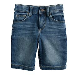 Boys 4-12 SONOMA Goods for Life™ Knit Denim Shorts in Regular, Slim & Husky