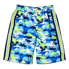 Boys 4-7 I-Extreme Dino Camouflage Swim Trunks
