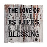 """Stonebriar Rustic """"Blessing"""" Wall Decor"""