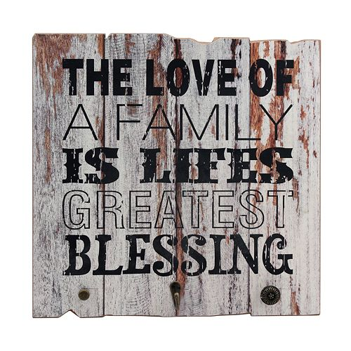 "Stonebriar Rustic ""Blessing"" Wall Decor"