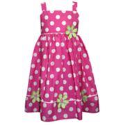 Toddler Girl Blueberi Boulevard Polka-dot Dress