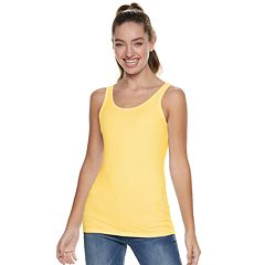 Juniors' SO® Scoopneck Tank Top