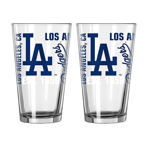 Boelter Los Angeles Dodgers Spirit Pint Glass Set