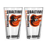 Boelter Baltimore Orioles Spirit Pint Glass Set