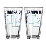 Boelter Tampa Bay Rays Spirit Pint Glass Set