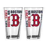 Boelter Boston Red Sox Spirit Pint Glass Set