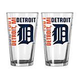 Boelter Detroit Tigers Spirit Pint Glass Set