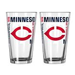 Boelter Minnesota Twins Spirit Pint Glass Set