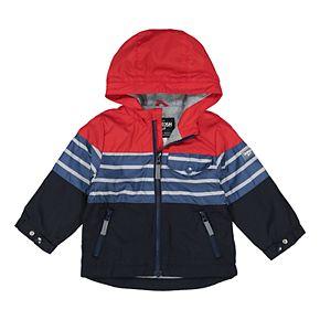 Boys 4-7 OshKosh B'gosh® Striped Hooded Midweight Jacket