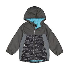 Boys 4-7 OshKosh B'gosh® Colorblock Reflective Hooded Midweight Jacket