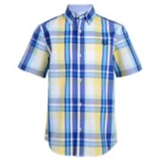 Boys 4-20 Chaps Aden Plaid Button-Down Shirt