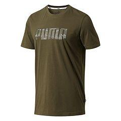 Men's PUMA Camo Logo Tee
