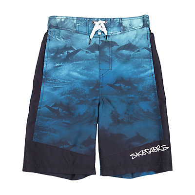 Boys 4-7 Skechers Dolphin Ocean Swim Trunks