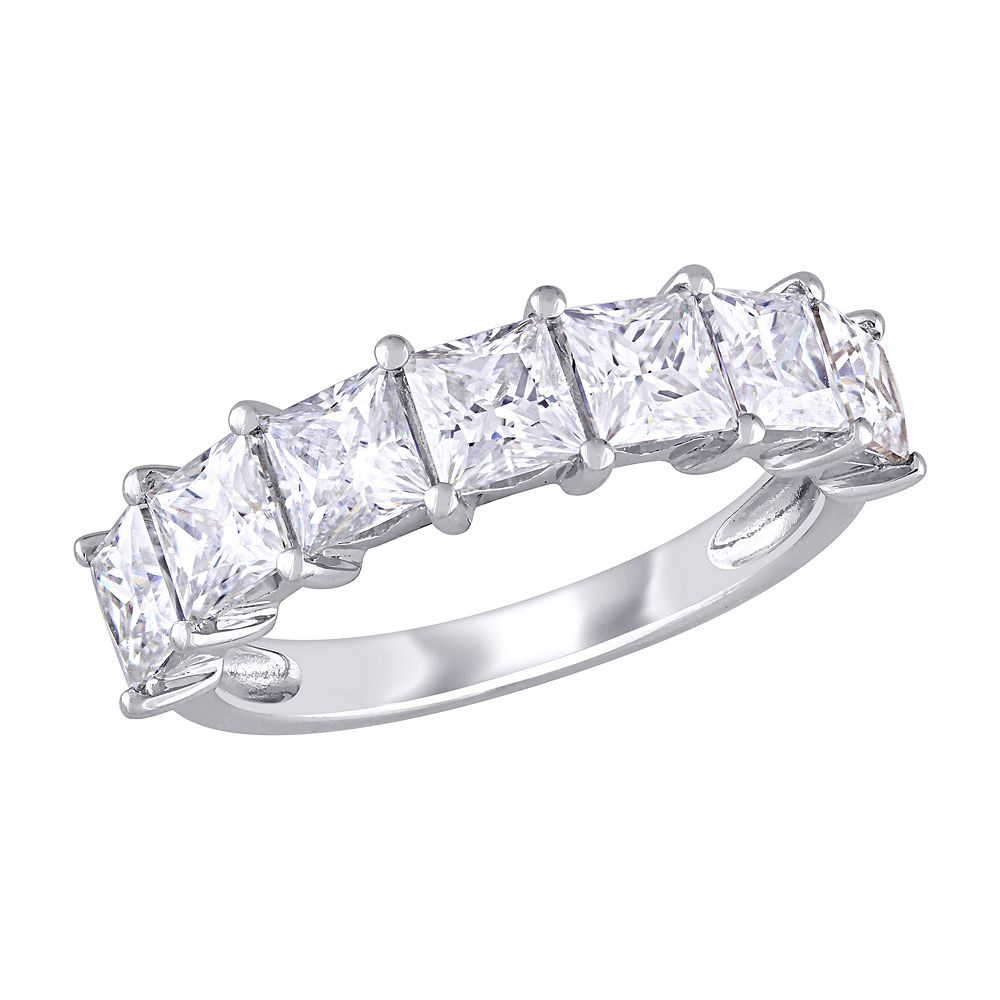 Stella Grace 10k White Gold Lab-Created Moissanite Engagement Ring