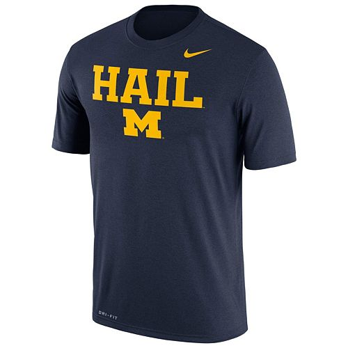 Men's Nike Michigan Wolverines Authentic Legend Tee