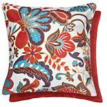 Spencer Home Decor Baja Floral 2-pack Throw Pillow Set
