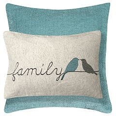 Spencer Home Decor La Famille 2-pack Throw Pillow Set