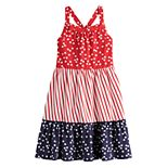 Girls 4-12 Jumping Beans® Patriotic Maxi Dress