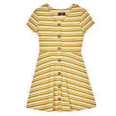 Girls 7-16 IZ Amy Byer Striped Fit & Flare Dress