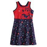 Disney's Minnie Mouse Girls 4-12 Patriotic Dress by Jumping Beans®