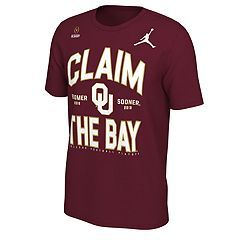 Men's Nike Oklahoma Sooners 2018 College Football Playoffs Claim the Bay Tee