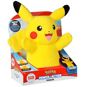 Pokemon Power Action Interactive Plush Pikachu