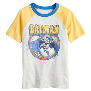 Boys 4-12 SONOMA Goods for Life? DC Comics Batman Retro Raglan Tee
