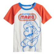 Boys 4-12 SONOMA Goods for Life? Super Mario Bros. Retro Raglan Tee