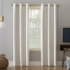 Sun Zero 2-pack Tanden Textured Theater Grade Extreme Blackout Window Curtains
