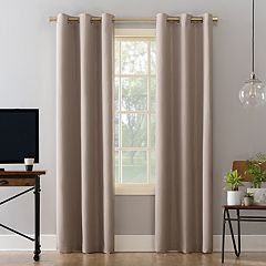 Sun Zero 2-pack Barwick Dots Theater Grade Extreme Blackout Window Curtains