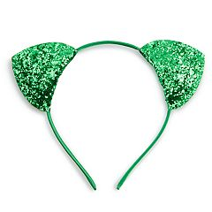 Ballet Group Inc. Satin Glitter Cat Ear Headband