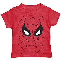 Toddler Boy Marvel Spider-Man Web Graphic Tee