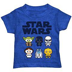 Toddler Boy Star Wars Team Kawaii Graphic Tee