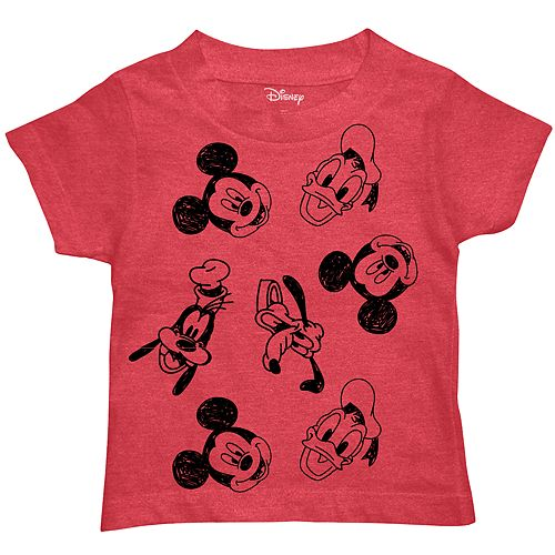 Disney's Mickey Mouse & Friends Toddler Boy Graphic Tee