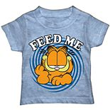 "Toddler Boy Garfield ""Feed Me"" Graphic Tee"