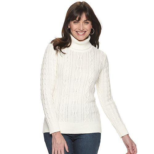Women's Croft & Barrow® Knitted Sweater