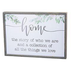 'Home Love' Wall Art