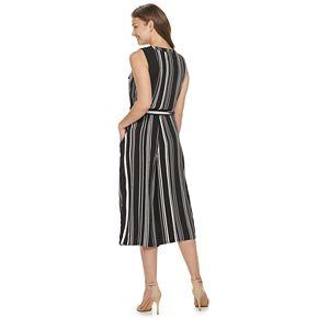 Women's Apt. 9® Asymmetrical Ruffle V-Neck Jumpsuit