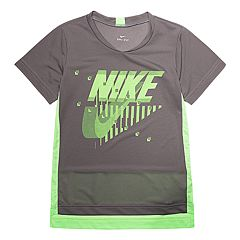 Boys 4-7 Nike Dri-FIT Mesh High-Low Tee
