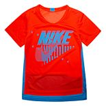 Boys 4-7 Nike Dri-FIT Mesh High-Low Tee