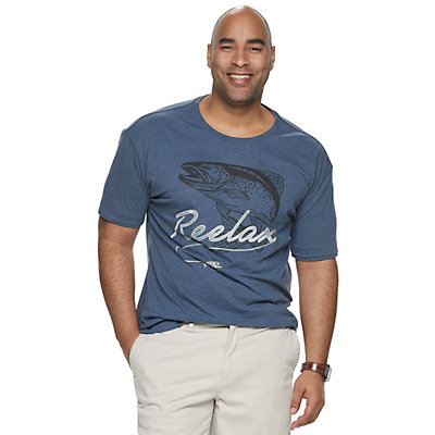 Big & Tall SONOMA Goods for Life? Relax Graphic Tee