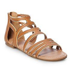 SO® Hopeful Women's Gladiator Sandals