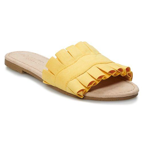 LC Lauren Conrad Joliet Women's Slide Sandals
