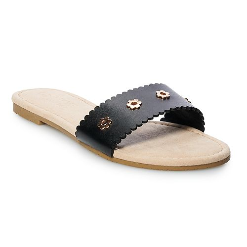 LC Lauren Conrad Louane Women's Studded Sandals