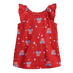 Disney's Minnie Mouse Toddler Girl Patriotic Print Tank Top by Jumping Beans®